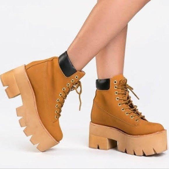 Jeffrey Campbell Nirvana Platform Boots